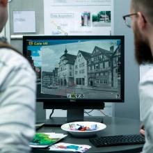 virtuelle Begehung der Stadt Calw