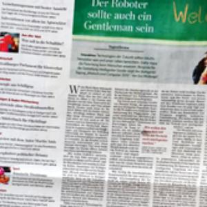 Die Stuttgarter Zeitung veröffentlichte einen Bericht über die Präsentationen und Ideen der MUC 2015.