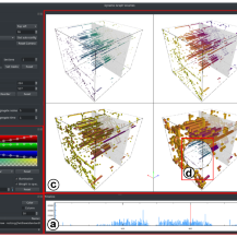 Screenshot of the awarded Volume-Based Large Dynamic Graph Analytics Solution