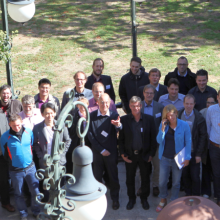 The members of the SFB 716 at the Final Conference of the SFB 716 in Heidelberg