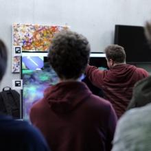 Digitale Kunst beim Informatiktag 2017