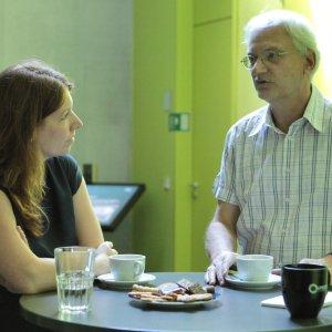 Im Intensiven Austausch: Dr. Anna Christmann und Prof. Thomas Ertl