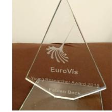 EuroVis Young Researcher Award 2018 für Fabian Beck
