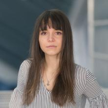 This image shows Cristina Morariu